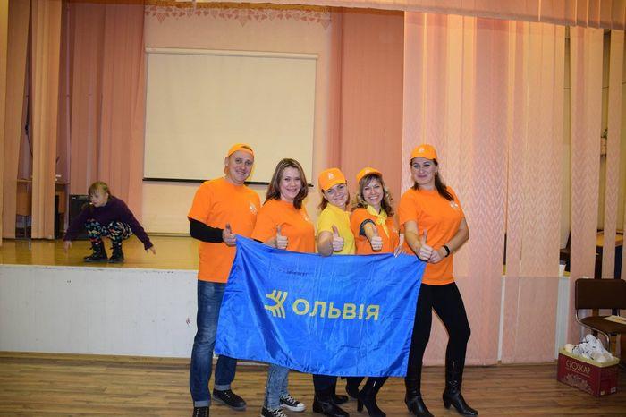 Молодежная организация «СК «Ольвия» поучаствовала в благотворительном марафоне