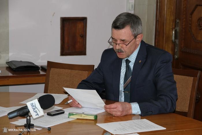 Александр Герасименя доложил о подготовке города к зиме