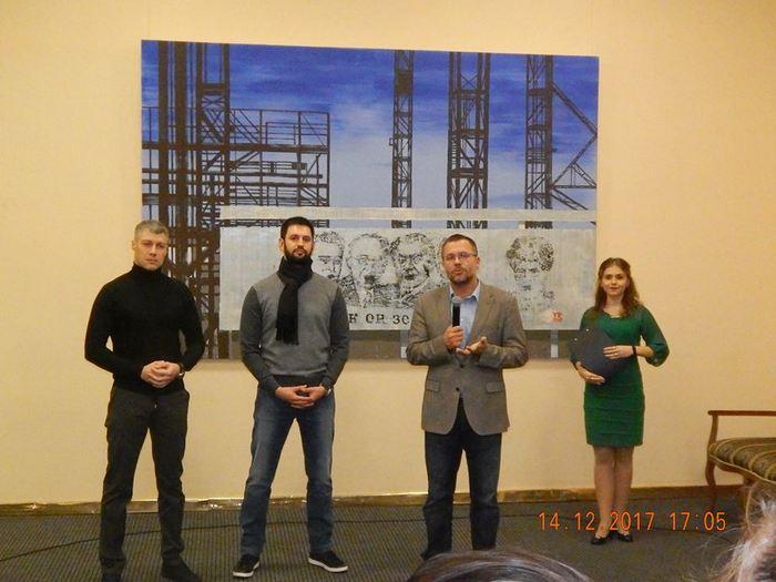 Выставка «Николаев Арт Пром» представила николаевцам промышленный город