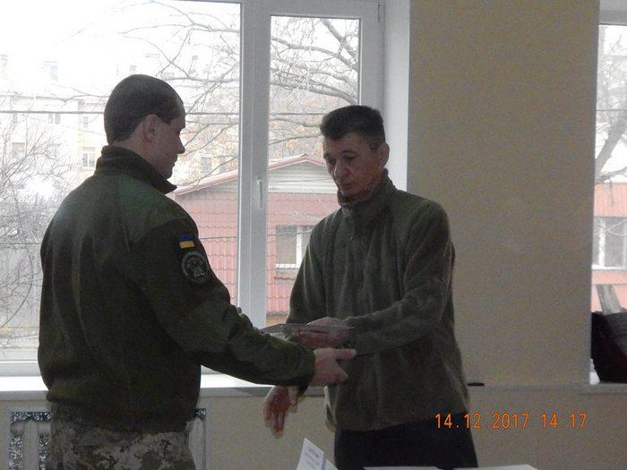 За підтримки програми НАТО військовослужбовці Миколаївського гарнізону отримали цивільні спеціальності