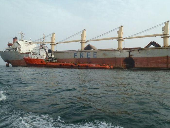 Ко всем украинцам взывают о помощи родственники моряков судна «Free neptune»