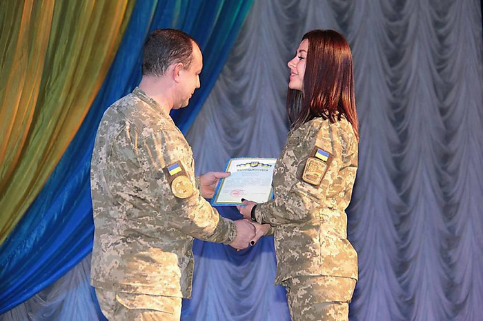 В Николаеве отпраздновали 10 лет ремонтно-восстановительному полк ВСУ