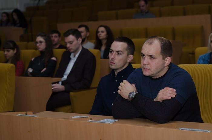 В Николаеве презентовали программу «Студенческая боксерская лига»