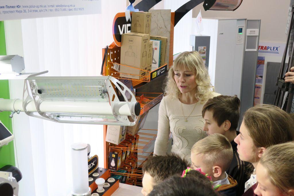 У Центрі енергоефективності миколаївських школярів навчали економії