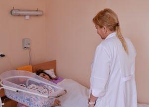 У нещодавно відкритому після ремонту акушерсько-гінекологічному відділенні вже народилося дві дитини