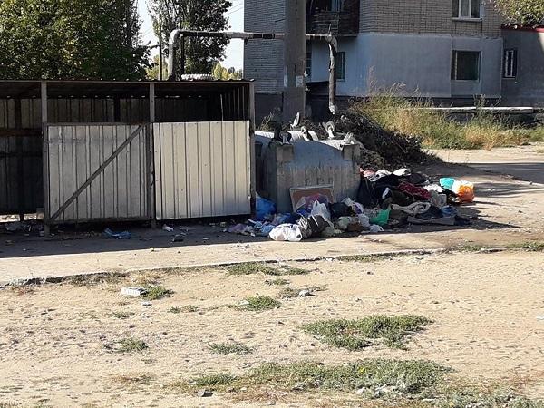 Николаевец о вывозе мусора в Корабельном районе
