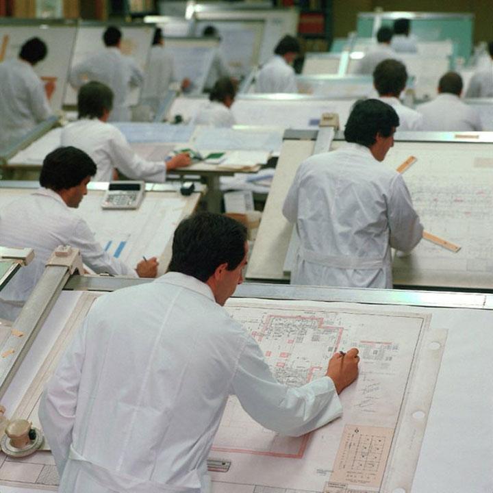 Так работали инженеры до появления компьютерных программ