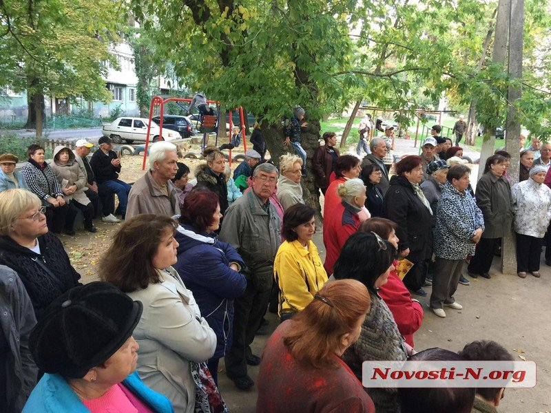 В Соляных масштабное собрание жильцов против управляющей компании «Місто для людей»