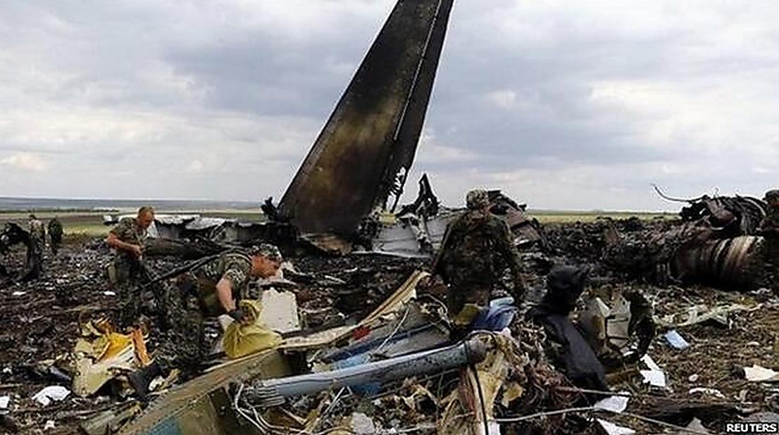 Николаевцев зовут почтить память 49 десантников, самолет которых сбили террористы