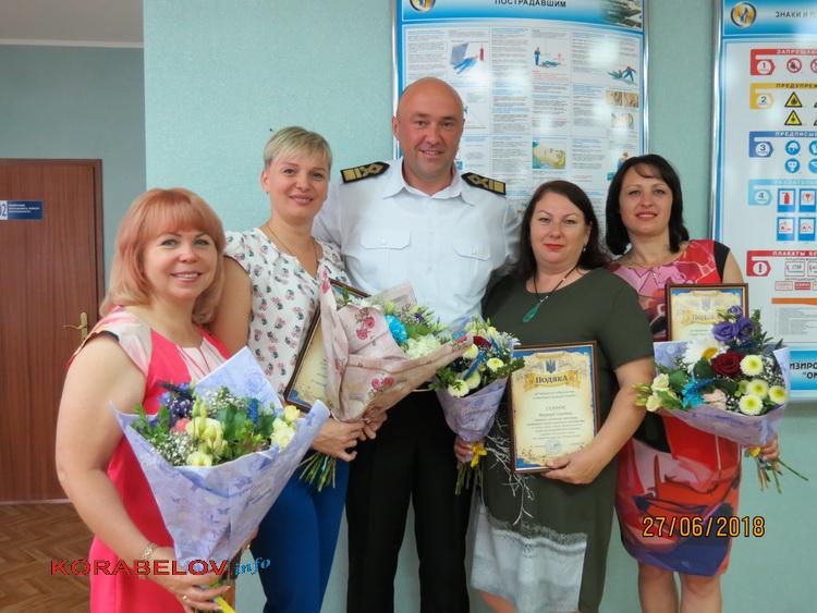 """В """"СК """"Ольвия"""" состоялось торжественное собрание в канун профессионального праздника (ВИДЕО)"""