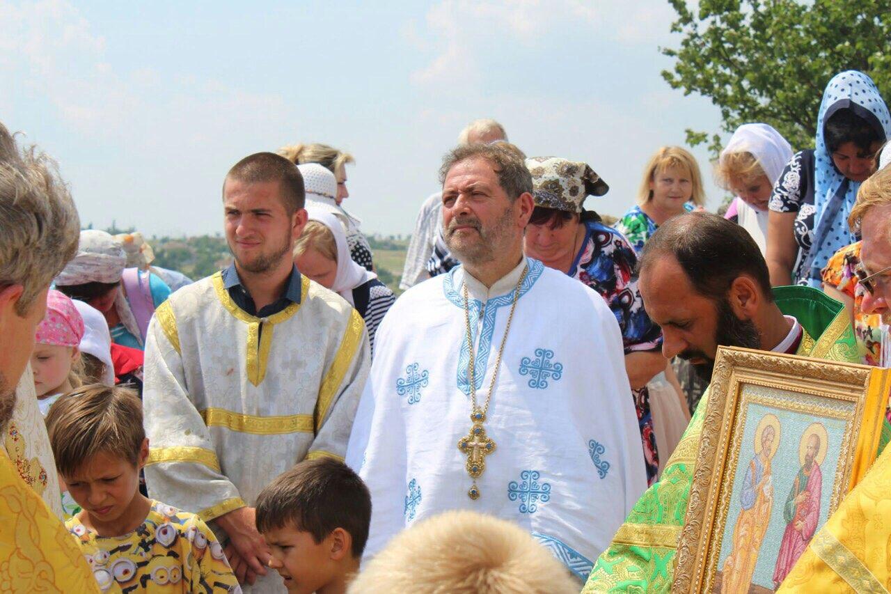 Праздник Пётра и Павла в Петрово-Солонихе