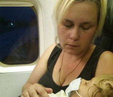 Малышка из Корабельного района вылетела с мамой в Стамбульскую клинику, но средств на оплату лечения пока недостаточно (ВИДЕО)