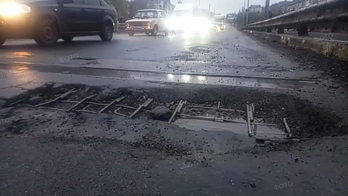 В Николаеве Варваровский мост опасен для проезда