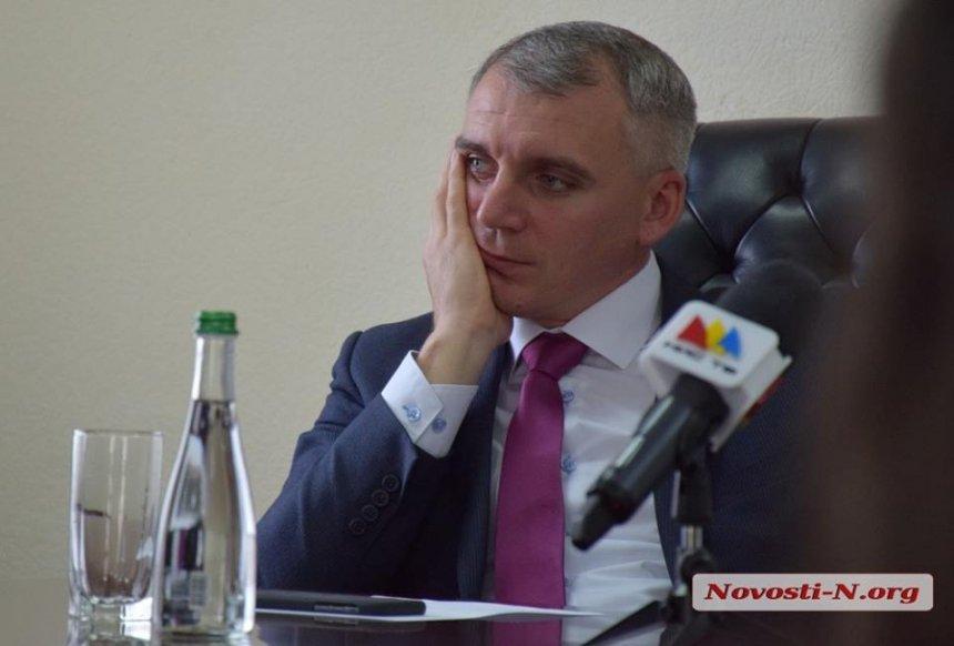 Суд признал противоправной бездеятельность мэра Николаева Сенкевича