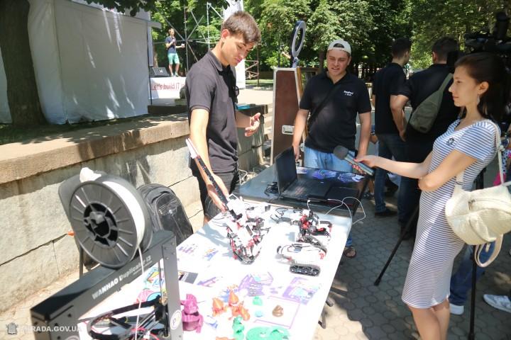 В Николаеве прошел первый IT-фестиваль под открытым небом