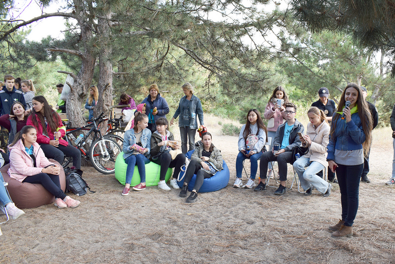Более двух сотен николаевцев провели World Cleanup Day в парке «Лески»