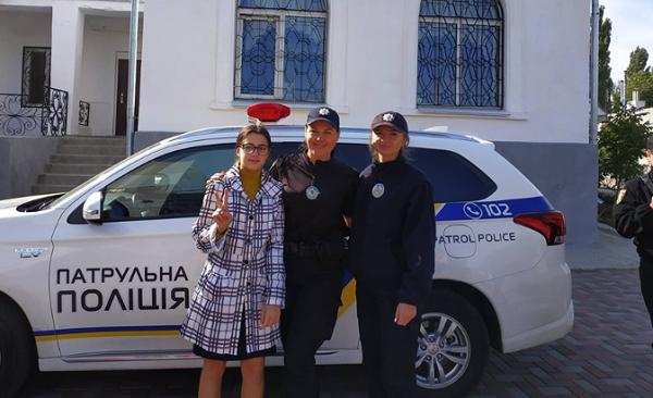 Граючи з офіцером поліції, ліцеїсти в Корабельному районі вивчали ПДД