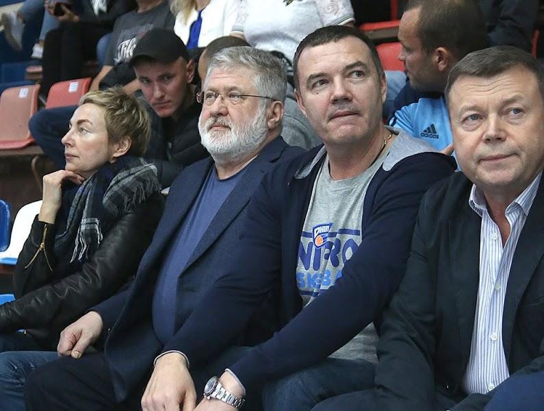 Олигарх Игорь Коломойский прилетал в Николаев на баскетбол как болельщик
