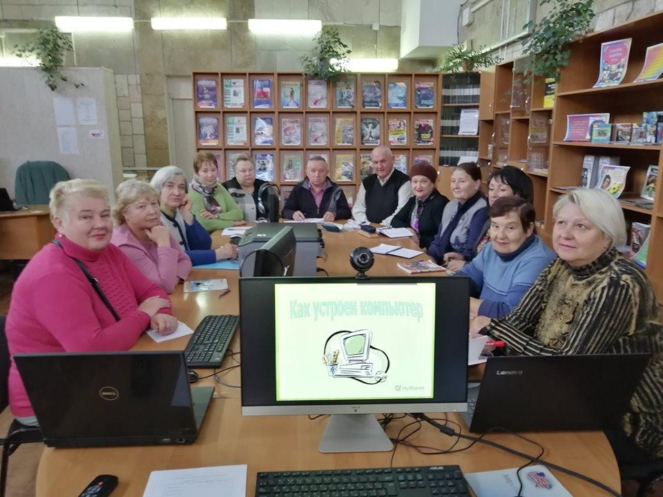 В Николаеве студенты «Университета третьего возраста» обучились азам компьютерной грамотности