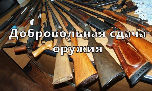 До Корабельного та Вітовського відділів поліції в жовтні можна добровільно здати зброю та залишитися непокараним