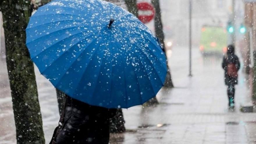 В Николаеве на этой неделе обещают мороз и мокрый снег