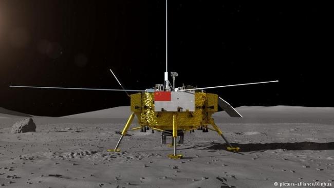 Китайский аппарат «Чанъэ-4» успешно сел на обратную сторону Луны