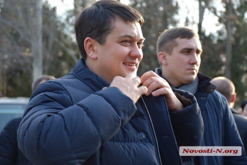 Глава ВР Разумков о Серой площади в Николаеве