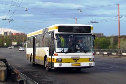 В Николаеве меняют движение автобуса №54 в Матвеевку