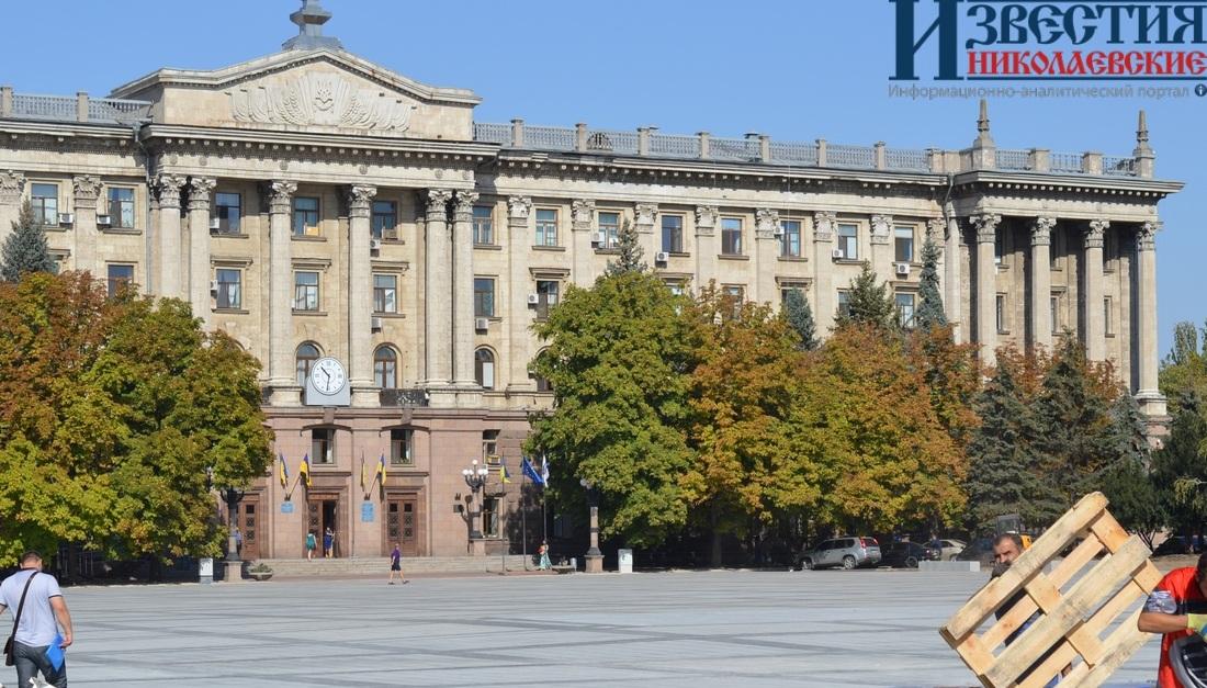 В Николаеве на Соборной площади планируются фонтаны и кафе