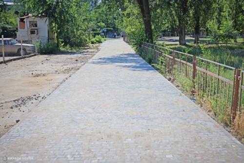 В Корабельном районе отремонтировали дорогу к гимназии №3