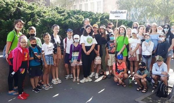50 дітей з Корабельного району відпочивають у таборах за рахунок міського бюджету