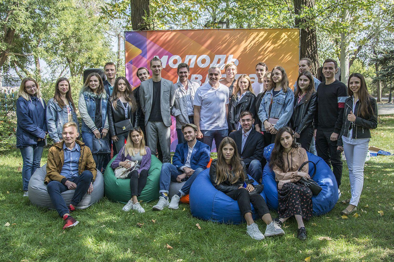 Мэр Николаева встретился со студентами-политологами в формате открытого микрофона