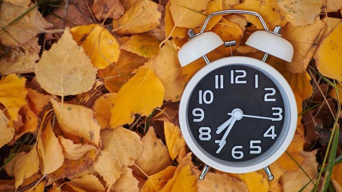 Украина 25 октября переходит на зимнее время
