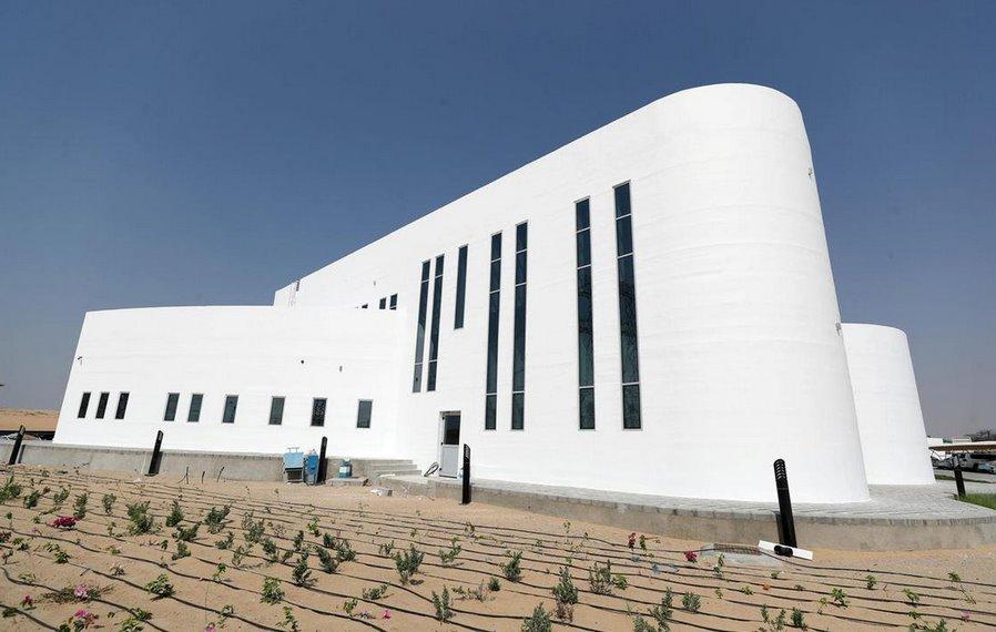 В Дубае построили крупнейшее в мире бетонное 3D-печатное здание