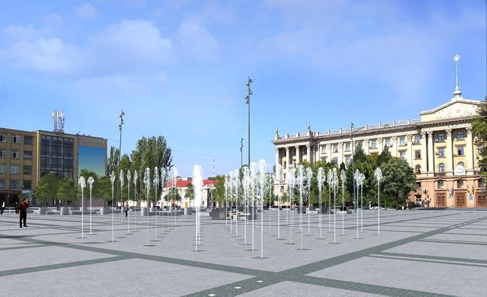Общая стоимость реконструкции Серой площади в Николаеве составляет 104,9 млн грн, срок завершения — 2022