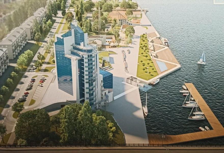 «От моста до «8 причала»: в Николаеве показали проект новой набережной