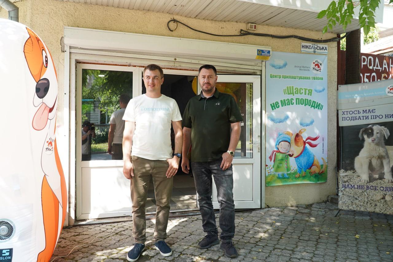 В Николаеве заработал центр, в котором можно чипировать и вакцинировать домашнего любимца