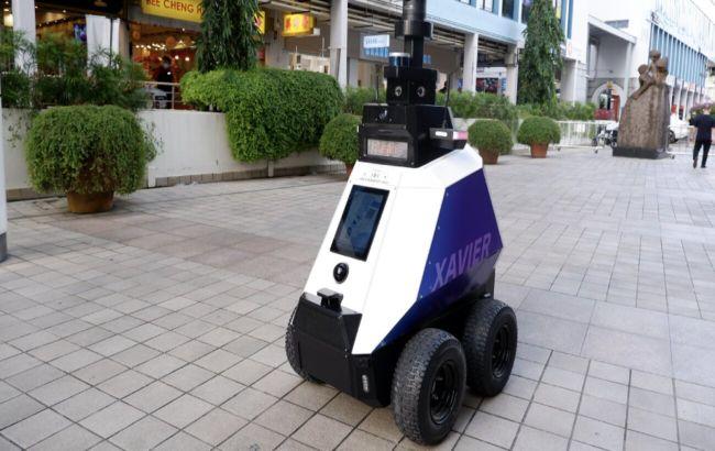 Роботы-патрульные начали следить за порядком в Сингапуре