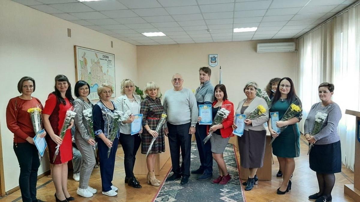 Райдминистрация Корабельного поздравила «лучших педагогов района»
