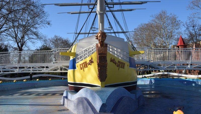 В николаевской «Сказке» открылся для посетителей корабль «Буян»