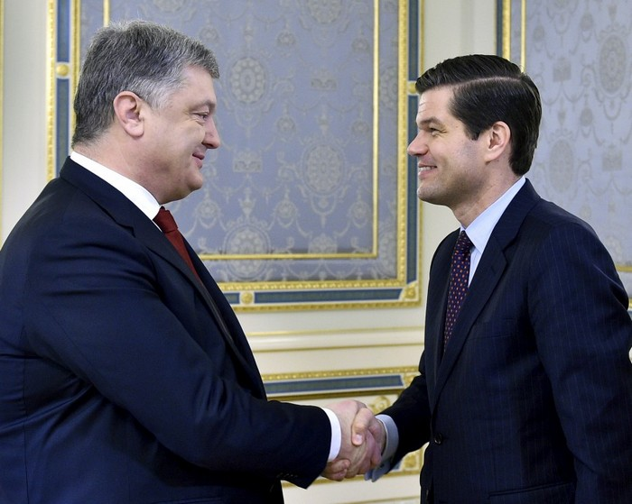 Порошенко провел встречу с Помощником Госсекретаря США