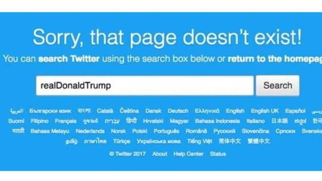 Сотрудник Twitter в день увольнения деактивировал аккаунт Трампа