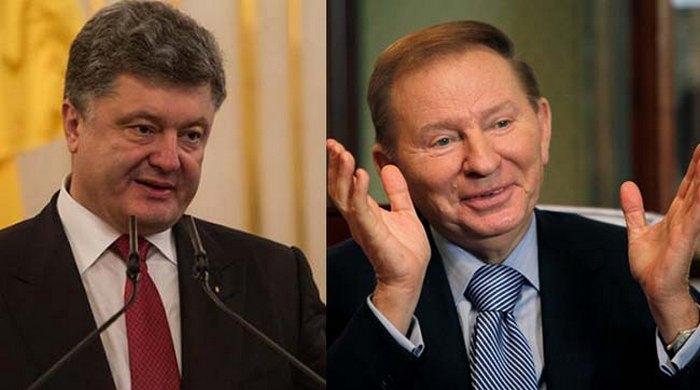 Порошенко возмутило предложение Кучмы по Донбассу