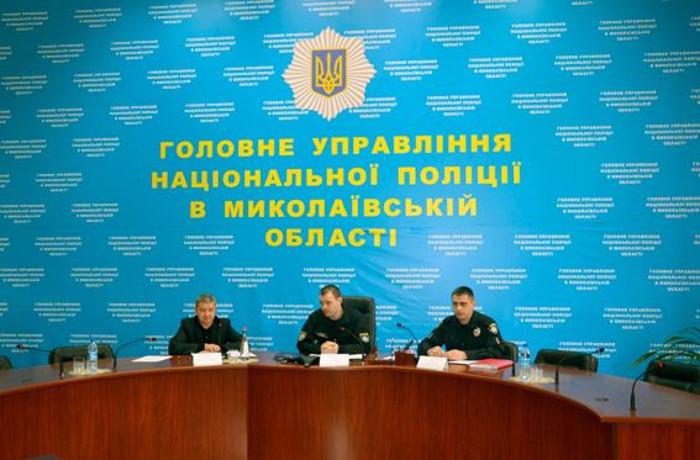 В Николаеве представили нового руководителя Управления патрульной полиции области