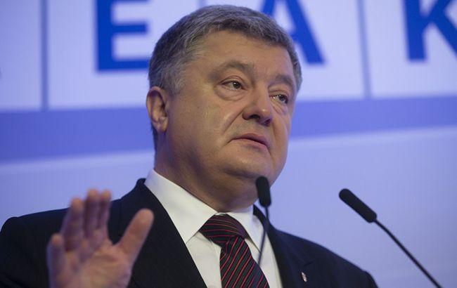 Порошенко подписал закон о допуске иностранных военных на учения в Украине