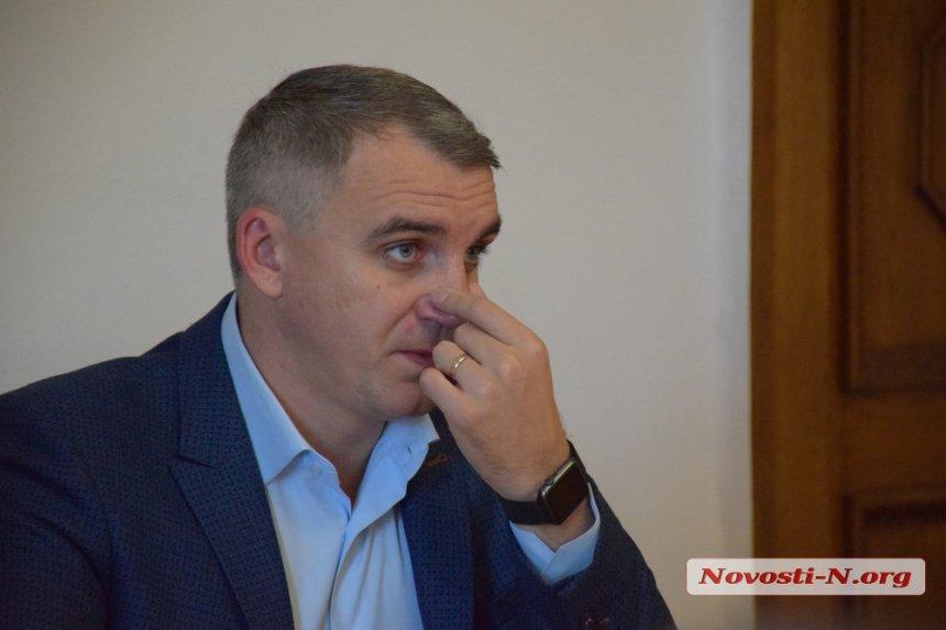 Мэр Сенкевич сбежал от николаевцев, чтобы не говорить про «Місто для людей»