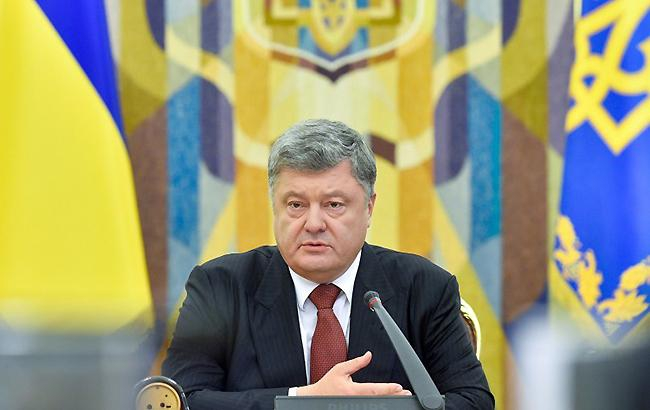 Порошенко ввел в действие тайное решение СНБО по противодействию информагрессии России
