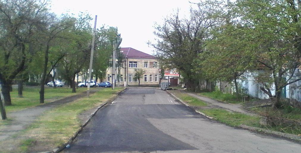 В Корабельном районе выполнен текущий ремонт дорог по ул. Ольшанцев и ул. гетмана Сагайдачного