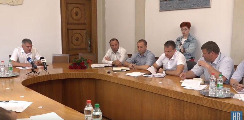 Глава Заводского района Николаева пожаловался на «ЭЛУ Автодорог» (ВИДЕО)