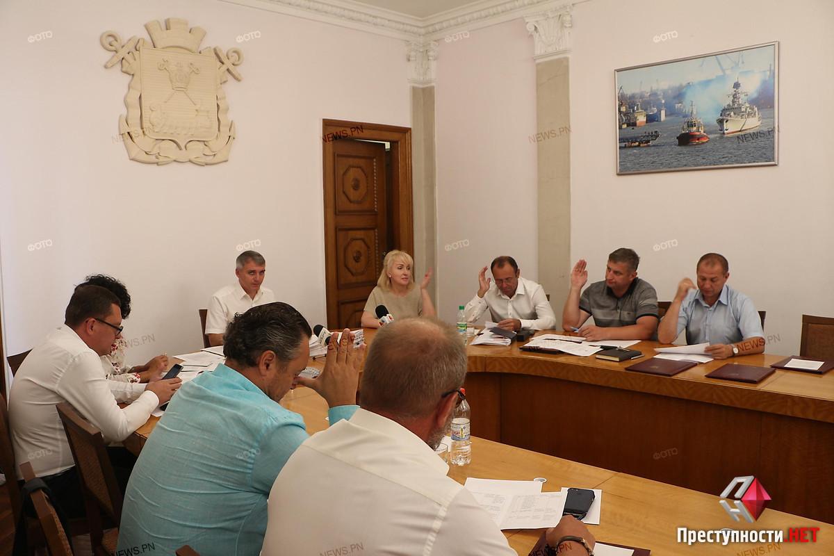 Исполком горсовета снова провалил голосование за перераспределение бюджета ДЖКХ Николаева